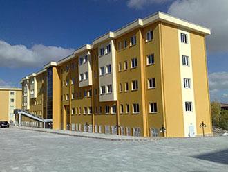 Konya Selçuk Üniversitesi 250 Kişilik Kız Öğrenci Yurdu
